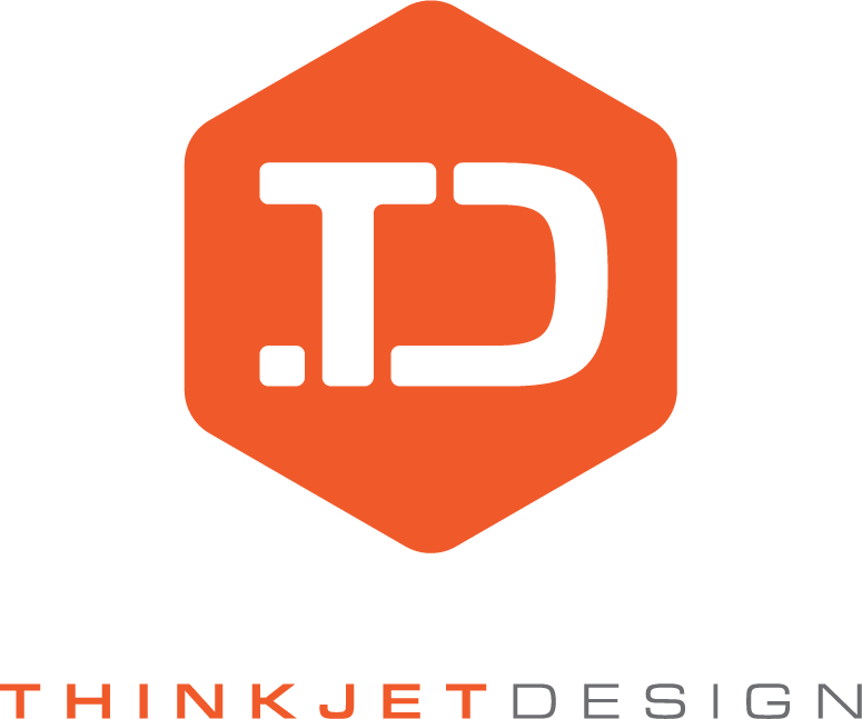 Thinkjet Design Logo